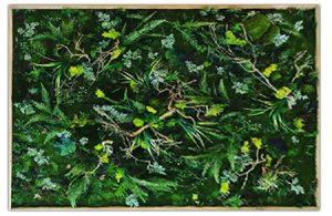 tableau verdure vert
